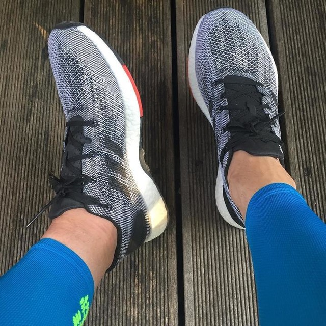 Say hello to my new adidas boost. An option for Berlin #adidas #adidasboost #boost #lovetorun #running #berlinmarathon #berlinmarathon2017 #partofone42 #cep #adidasrunning #potd #nofilter