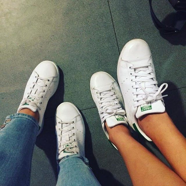 Twin 👯 @nataliemarias #LoveYou ❤️ #stansmith #adidas #girl #power #shoes #fashion #fashiongirl #fashionista #model #makeupartist #look #ootd #picoftheday #photooftheday #igers #hongkong #igdaily #instagood #love #❤️