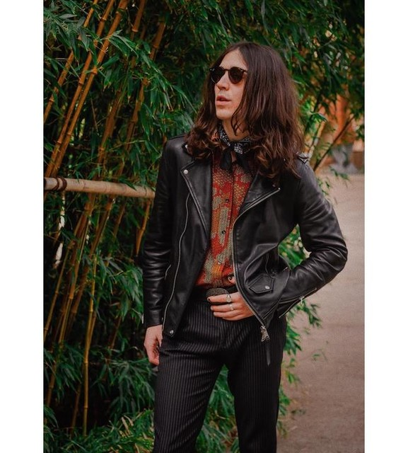 will_kitching - Manor Leather Biker Jacket