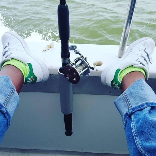#portwashington #anglerfishing #stansmith