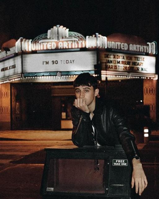 Eric Jess - Kaho Leather Biker Jacket