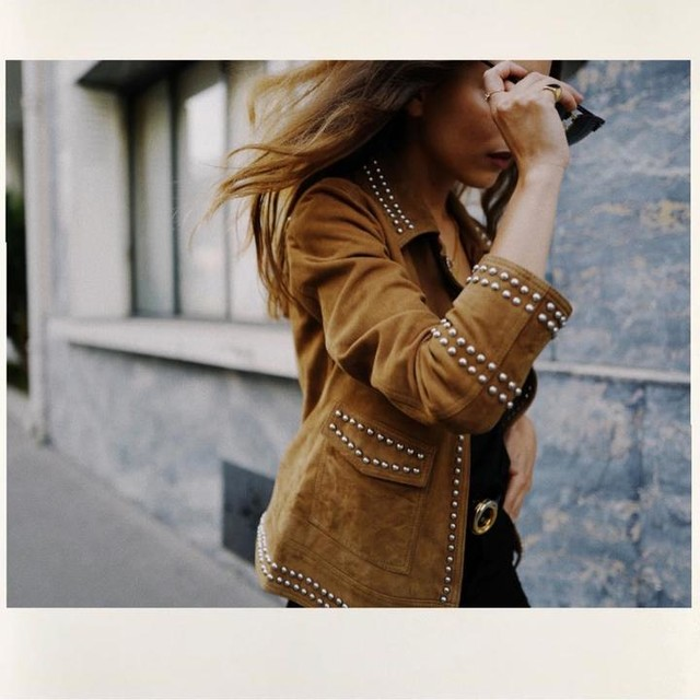sarah_nait - Evans Suede Jacket