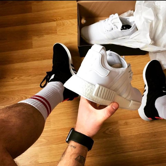 Hello new arrivals  #eqt #nmd #triplewhite #sneakers #tattoos #adidas #adidasnmd #adidaseqt #tatts #iwatch #tattsout @adidasuk @adidasoriginals @adidasnmd @eqtgame @sneakersaddictcom @sneakernews @sneakersnstuff @sneakerboy @tattoos_of_insta @tattoos_of_instagram @tattoo___addicts