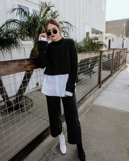 mollylouloves - Kalk Sweater