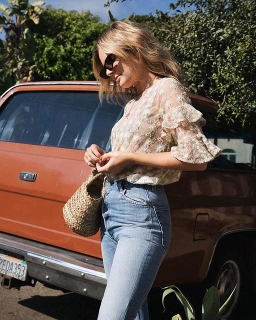 Lucy Williams | Fashion Me Now - Top Henrietta
