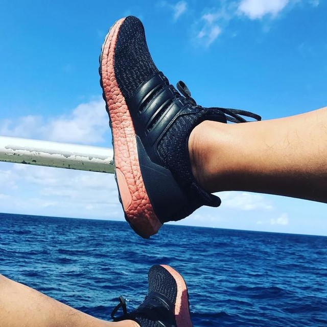 Life takes us down many winds and twists, make sure you have comfortable shoes. Ultra boosting in Bali and Gili T #mostcomfortableshoes2017 #adidas #ultraboost #techrust