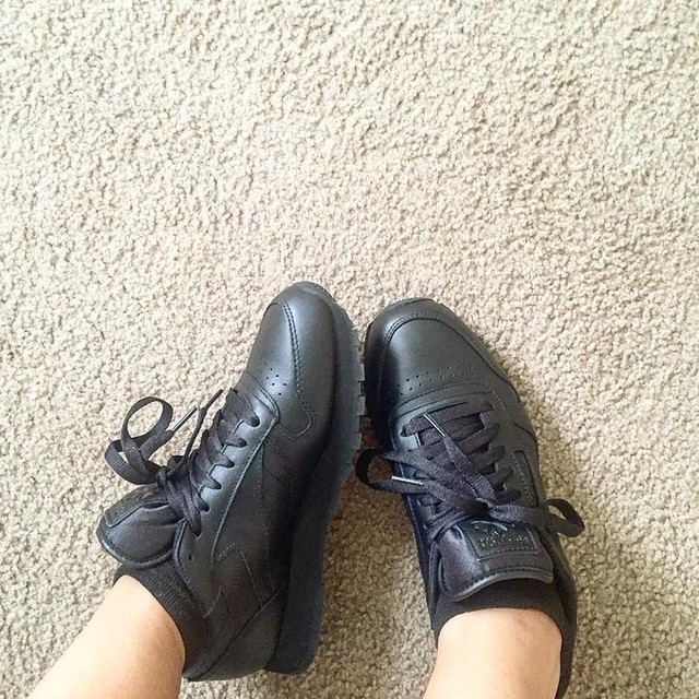 6f6360518af46f reebok classic black leather cheap   OFF63% The Largest Catalog ...