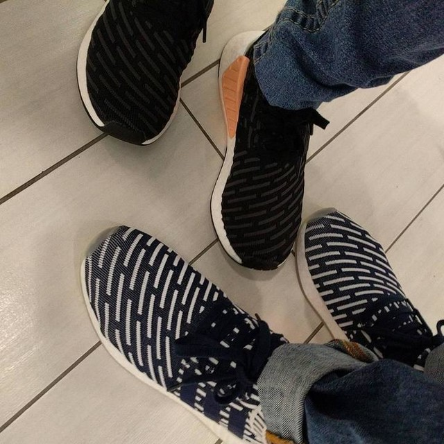 #3stripesstyle #NMD for a day