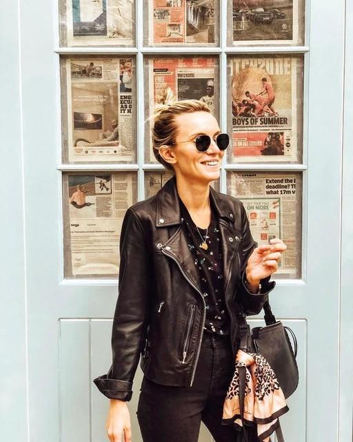 angie_aureliaa - Billie Leather Biker Jacket