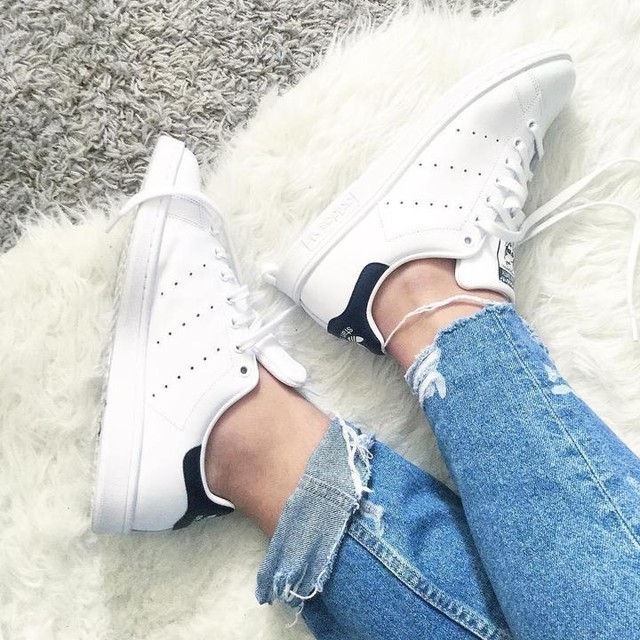 Stan smith💙💙 #stansmith #sneakers #new #yay #blue