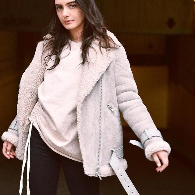 Olivia Perez - Cazadora Hawley Oversize Shearling