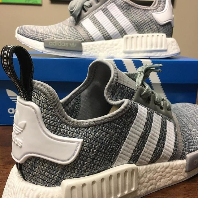 Alright alright...finally get to see what the hype is all about.. . . @tliu10 - wouldn't happen without you. Thank you for continually feeding the addiction with limited judging 😝  #adidas #adidasnmd #nmd #allgrey #threestripes #3stripestyle #summerstyle #sneakers #sneakerhead #notevenat100yet #mule #foreverthankful #onlywaited6months #walkingonclouds