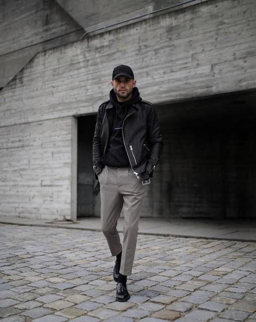 FELIPE A. C. P. - Tallis Cropped Slim Trousers