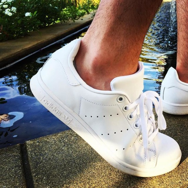 These are my shoes. #kicks #adidas #stansmith