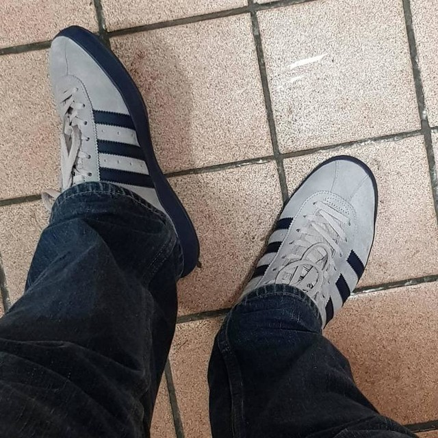 Adidas Mallison  Tags popped today, didn't realise how good these actually are  #adidas #adidasoriginals #mallinson #Spzl #spezial #3stripes #3stripesstyle #football #transalpino #transalpinoliverpool #sneakerser #sneakers #sneakerhead #sneakersmag #blogger #blog #protected #christmas #newyear #december #grey #blue #lacesoutfestival #laces