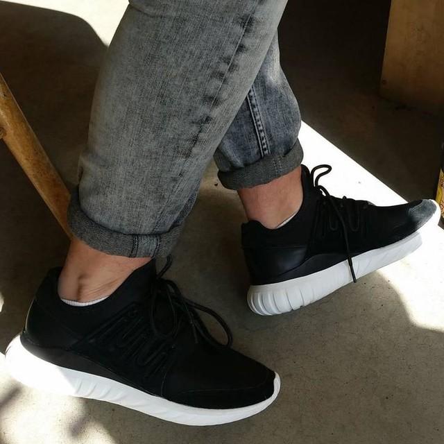 Adidas Tubular Radial Shoes Black