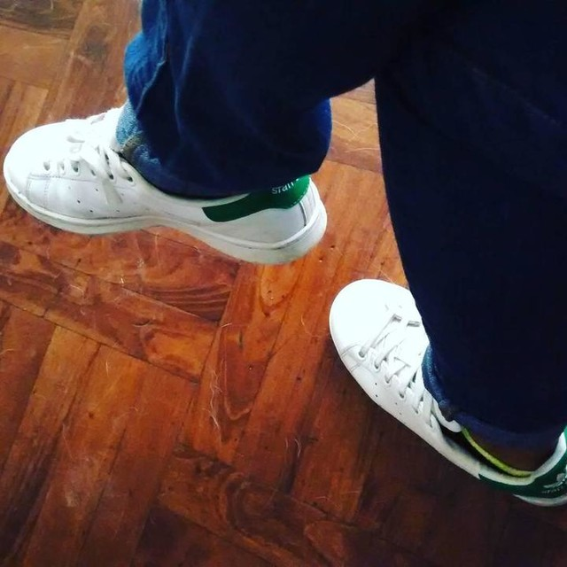 I'm in love <3 #adidas #sneackers #stansmith #white