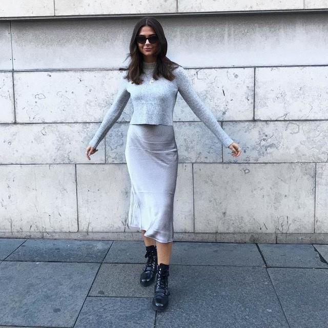 emilyaudsley - Vestido con Suéter Tierny