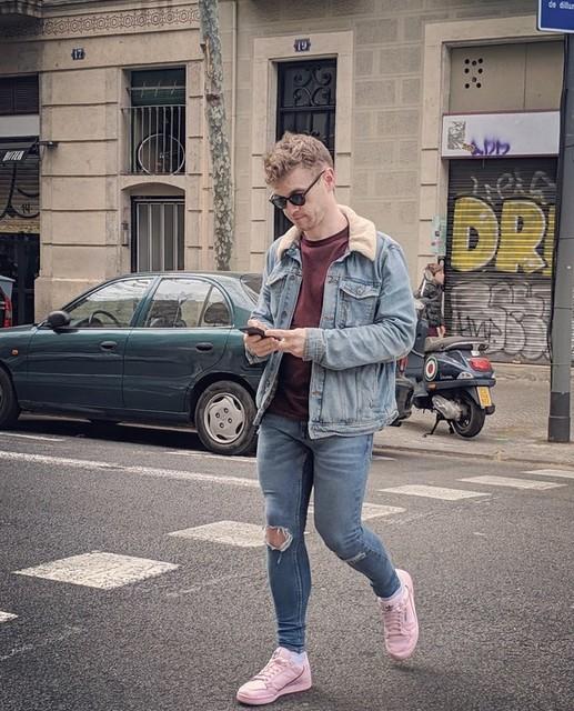 Kicking it in Barcelona