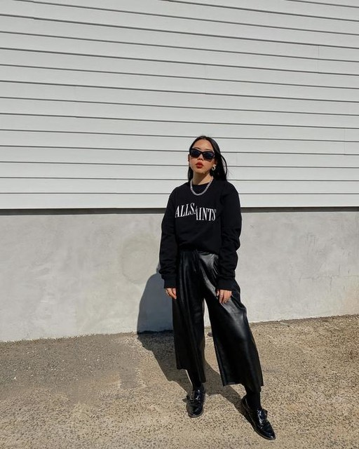 nanatbt - Dropout Crew Sweatshirt