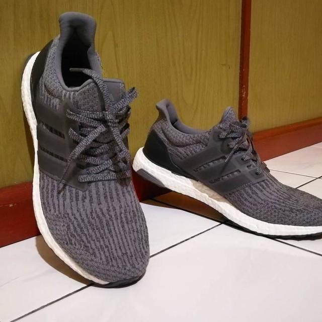 #ultraboost #mysterygrey #adidas #sneakers