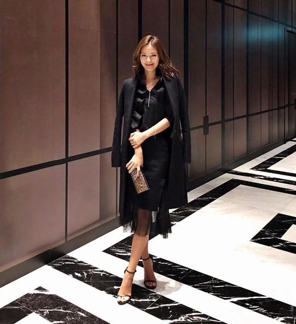 Jennifer Wei - Mae Ruffle Coat
